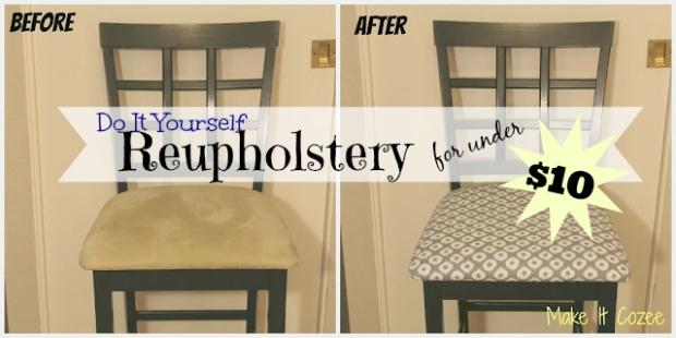 DIY Reupholstery
