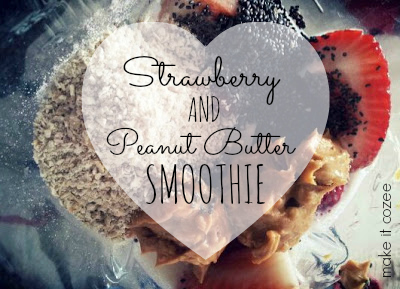 Straw.PB Smoothie Cover