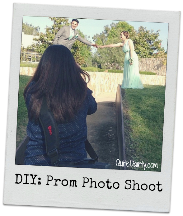 DIY Prom Photo Shoot