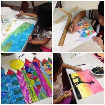Art Class Collage