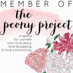 Peony Project Button